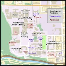 Washington University Campus Map by Campuses Of Georgetown University Wikipedia