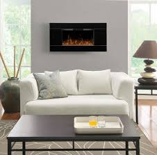 wall mount electric fireplace with tv above wall mount electric