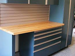 Build Wood Workbench Plans by Garage Garage Workbench Ideas To Complete And Finish All Your