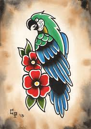 pin by rene t 0316 on tattoo1892 pinterest parrot tattoo
