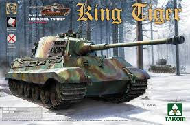 takom king tiger 1 35 scale with henschel turret full interior