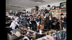 npr small desk penguin cafe npr music tiny desk concert youtube