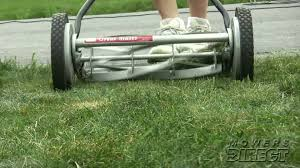how to pick the perfect reel lawn mower youtube