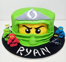 ninjago cake jenn cupcakes muffins ninjago cake