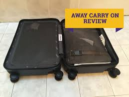 away luggage review youtube