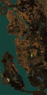 Gw2 World Map by Cursed Shore Map Of Pois Waypoints Vistas Skills And More