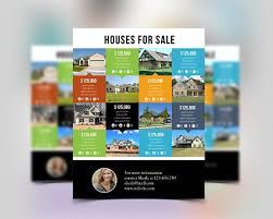 flyer property multi listing real estate flyer flyer templates creative market