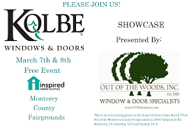 kolbe window u0026 door showcase this weekend at monterey home show