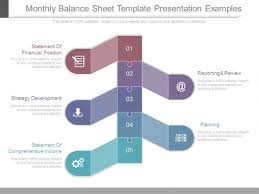 Monthly Balance Sheet Template Monthly Balance Sheet Template Presentation Exles Powerpoint