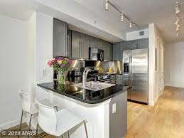 craftsman kitchen with hardwood floors u0026 flush in washington dc