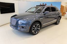 2017 bentley bentayga trunk 2017 bentley bentayga w12 signature stock 7nc016116 for sale