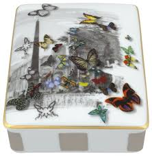 Christian Desk Accessories Vista Alegre Christian Lacroix Forum Card Box Torre Gift Box