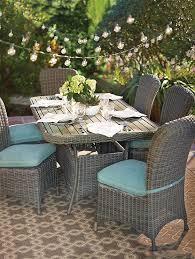 martha stewart living home decorators collection martha stewart living lake adela 7 piece dining set garden