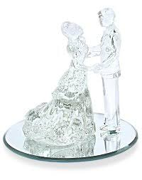 glass wedding cake toppers lovely glass wedding cake toppers b17 on pictures gallery m94 with