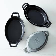 staub oval roasting dishes on food52