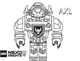 nexo knights coloring pages print coloring