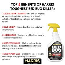 What Kills Bed Bug Eggs Amazon Com Harris Toughest Bed Bug Killer Liquid Spray With