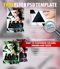 club flyer psd flyer template free download 6219 styleflyers
