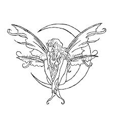 fairy moon sketch by satanspawn80 on deviantart