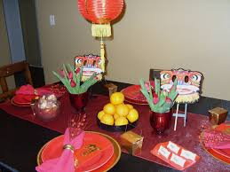 New Years Table Decorations Great Chinese New Year Table Decorations 79 About Remodel Decor