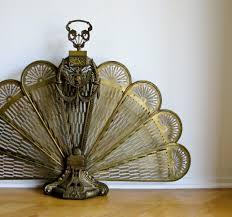 antique brass fireplace screens home design image cool to antique