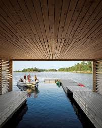 beautiful lake huron floating house by mos inhabitat green comfortable floating house by michael meredith boating you ve and