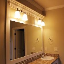bathroom mirror trim ideas bathroom mirrors ideas with vanity