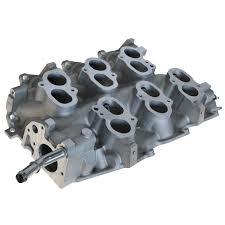 mustang intake manifold intake manifold aluminum lower for 01 04 ford mustang v6 3 8l 3 9l