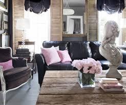 Decorating Living Room Black Leather Sofa Living Room Design With Black Leather Sofa How To Decorate Living