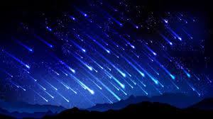 imagenes meteoritos reales lluvia de meteoritos más impresionante del año youtube