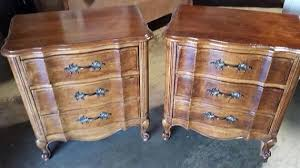 vintage french provincial nightstands on etsy 600 00