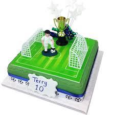 football cakes football birthday cake boys birthday cakes the brilliant bakers