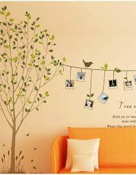 photo frame memory tree wall sticker bird photo frame rope wall