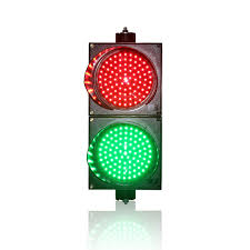 led traffic signal lights 200mm red green traffic signal light horizontal or vertical