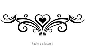 tattoo tribal heart vector clip art image free vectors ui download