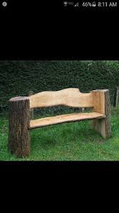 25 unique log benches ideas on pinterest log projects garden