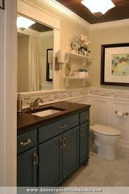 Forever Decorating My Master Bathroom Update Before And After 20 Awesome Bathroom Makeovers Moldings