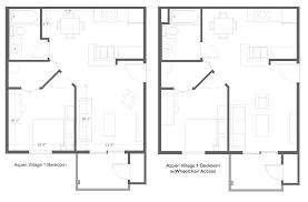 Aspen Heights Floor Plan by Aspen Village