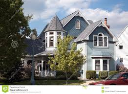 Queen Anne Style by Queen Anne Style Home Stock Photo Image 42694075