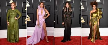 grammys 2017 best dressed celebrities beauty trends and red