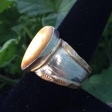 ivory ring teton gallery elk ivory ring sterling and brass teton