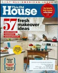this old house picnic table 2015 this old house magazine fresh makeover ideas classic kitchens