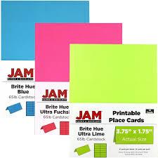 printable placecards printable placecards jam paper