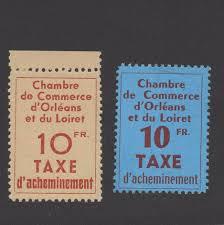 chambre de commerce orleans grève n 2 et 3 chambre de commerce d orléans neufs tb signés