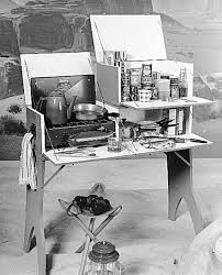 Camp Kitchen Box Plans by U Bild 3 In 1 Camp Kitchen Plan Combines Folding Table Stove