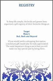 wedding gift message 17 beautiful gift card wedding registry wedding idea