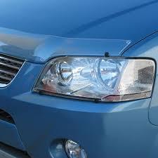 protective plastics headlight protector ford falcon ba xr6 xr8
