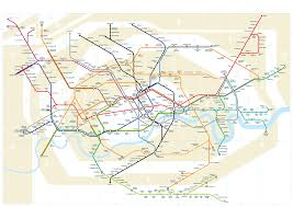 London Metro Map by London Tubemap A New Angle On The London Underground