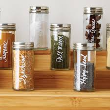 Mini Storage Containers For Sale Spice Bottle 3 Oz Glass Spice Bottle The Container Store