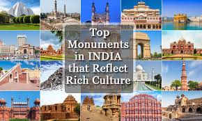 monuments for top 48 monuments in india that reflect rich culture heritage